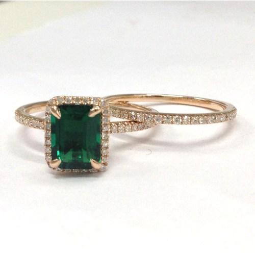 Medium Crop Of Emerald Engagement Rings
