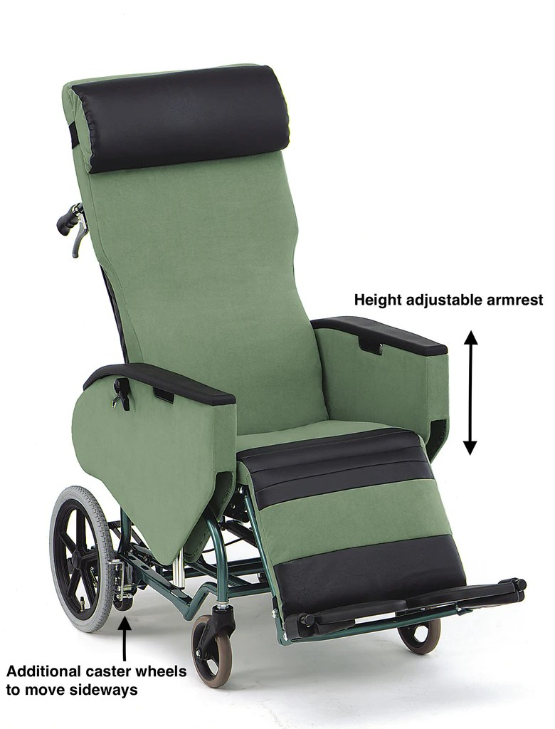 Bed Wheelchair Plush Wheelchair Bed Fully Tilt And Reclining