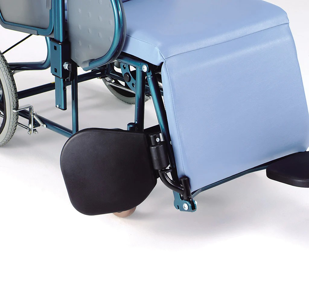 Bed Wheelchair Plush Convertible Wheelchair Bed Fully Reclining Healthcare