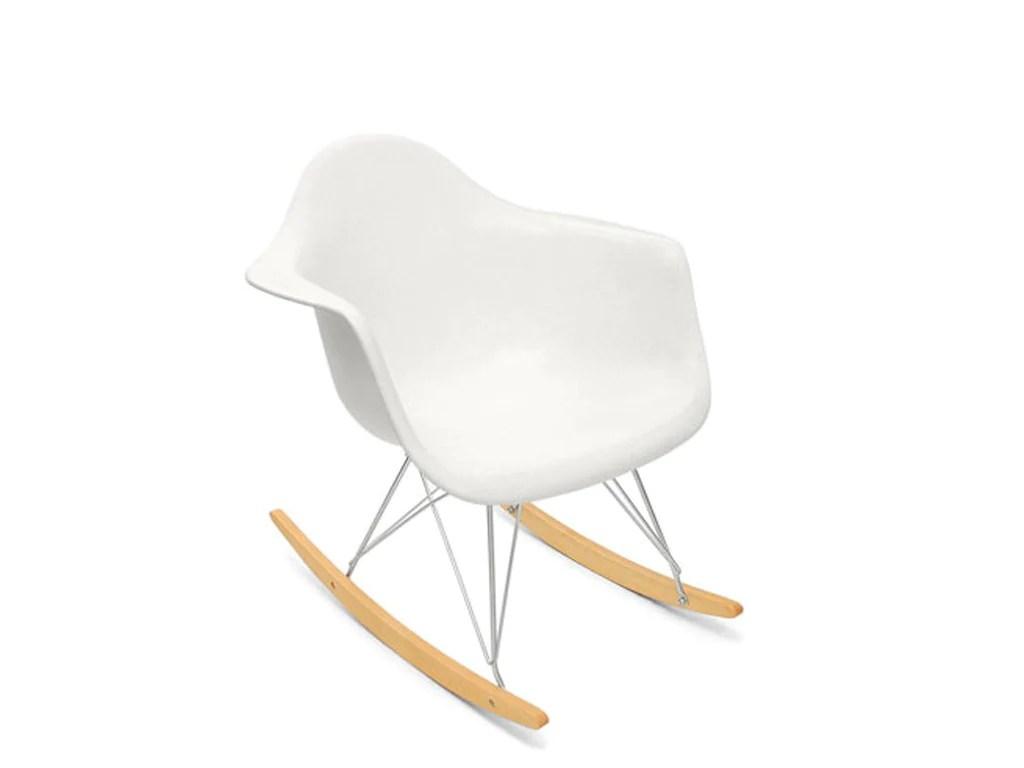 White Plastic Rocking Chair Maine Chairs Kids Wood