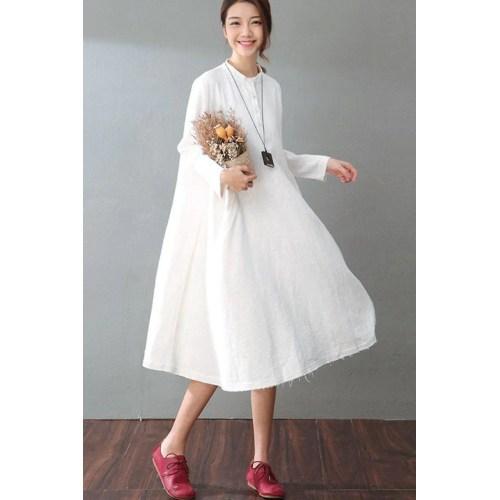 Medium Crop Of White Long Dresses