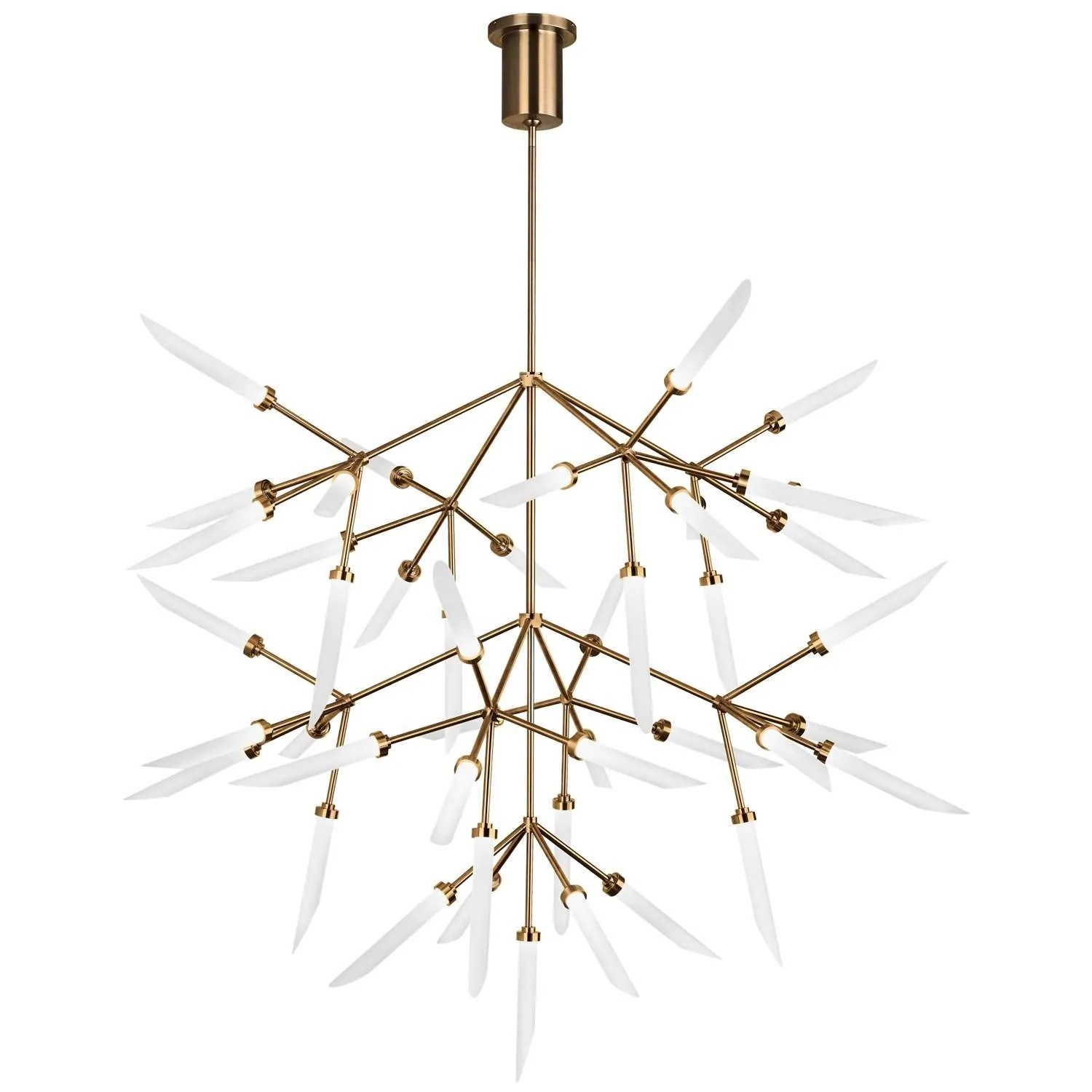 Led Chandelier Spur Grande Led Chandelier Tech Lighting