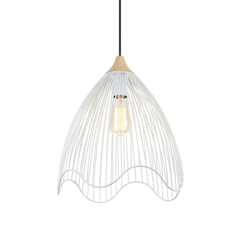 wire dome pendant light lighting pinterest