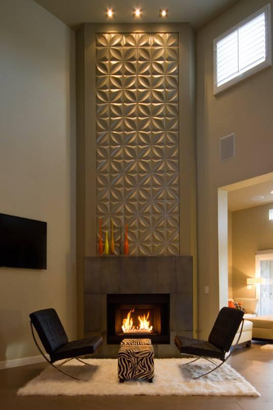 Chrysalis Wall Flats Fireplace Treatment – Inhabit