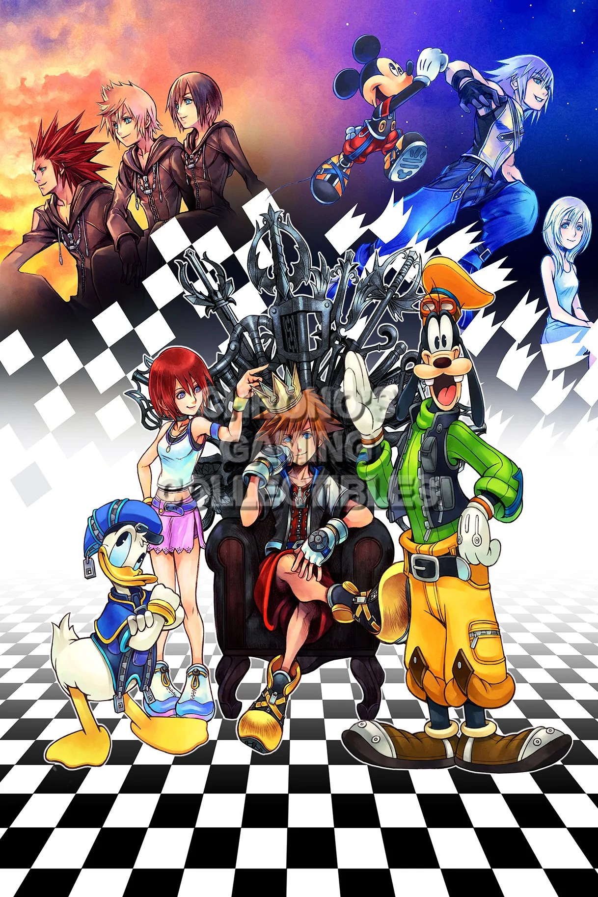 Black Ops Ii Wallpaper Kingdom Hearts Video Games Poster Cgcposters