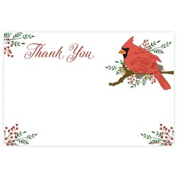 Tempting Hill Thank You Flyers Thank You Cards Thank You Cards Cardinal Holiday Thank You Note Cards Madison