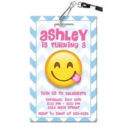 Gracious Emoji Birthday Invitation Emoji Birthday Invitations Pvc Invites Vip Birthday Invitations Emoji Birthday Invitations Online Emoji Birthday Invitations To Print