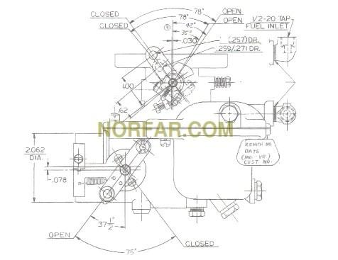 Carburetor Wiring Diagram