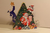 Betty Boop Musical Wooden Christmas Decoration  Purpose ...