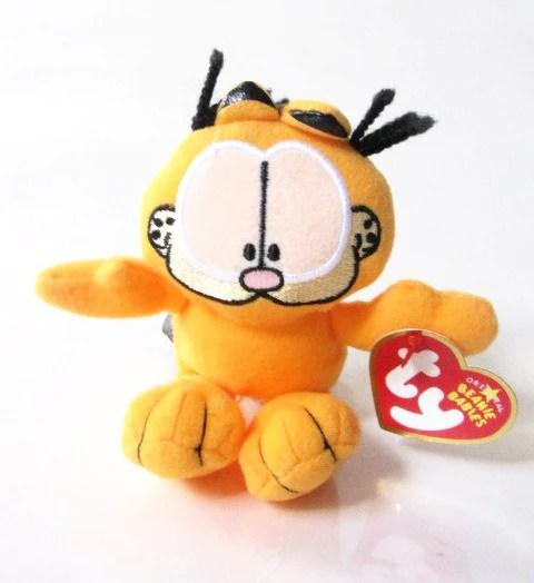 Ebay 3d Wallpaper Ty Beanie Babies 2007 Garfield Odie Amp Pooky Plush Set
