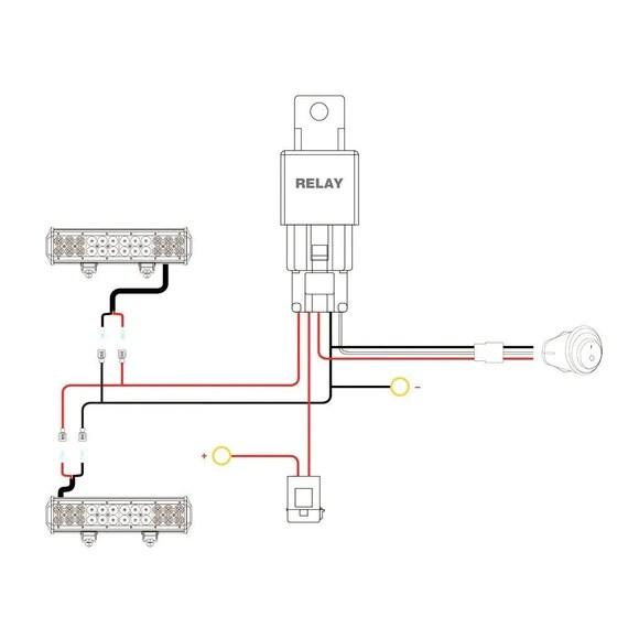 light bar wiring kit instructions