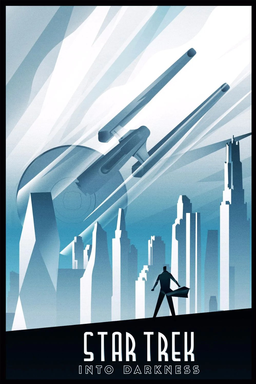 Deco Poster Art Deco Poster Star Trek Into The Darkness Hollywood Collection Posters