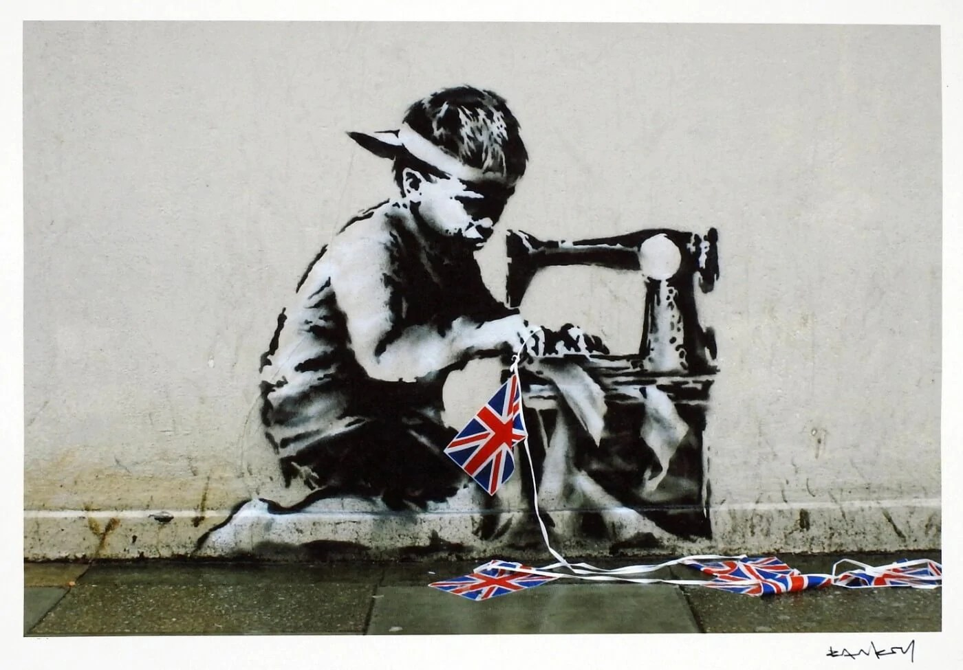 Banksy Canvas Art Slave Labour Banksy Canvas Prints