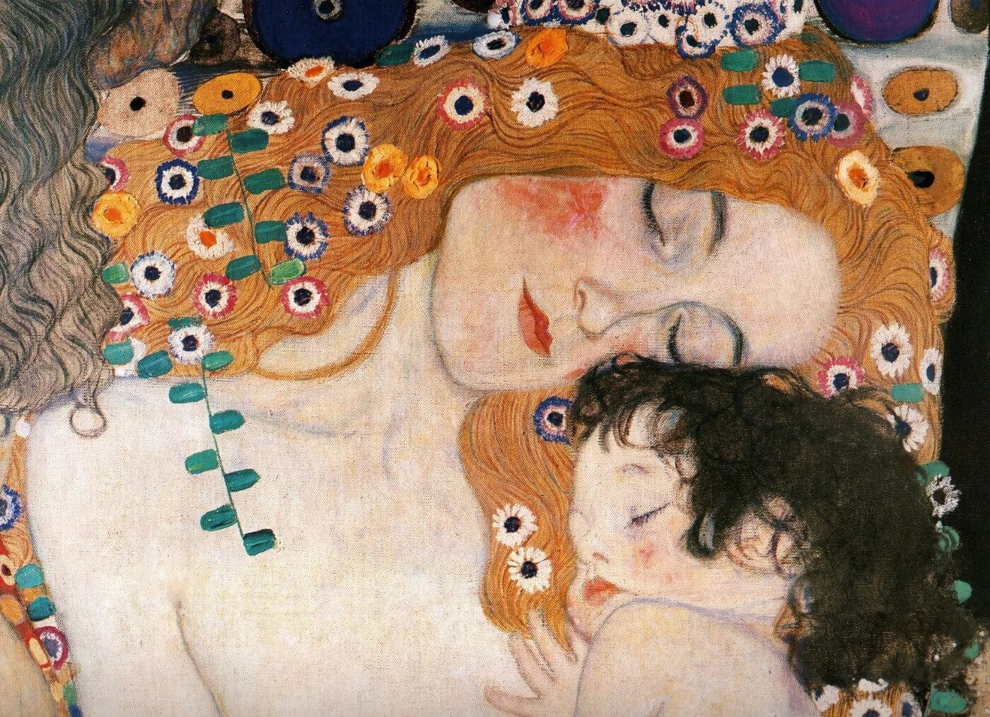 Three Ages Of Woman Posters By Gustav Klimt Buy Posters Frames Canvas Digital Art Prints Small Compact Medium And Large Variants