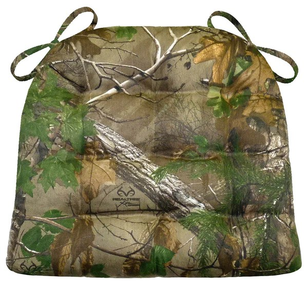 Wholesale Vendors For Home Decor Realtree Xtra Green R Camo Chair Pad Latex Foam Fill
