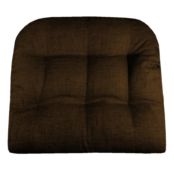 Wholesale Vendors For Home Decor Rave Chocolate Brown Indoor Outdoor Dining Chair Pads
