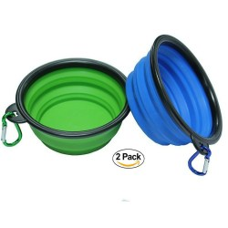 Tempting Lid Dogs Collapsible Dog Bowl Pet Collapsible Dog Bowl Dog Bowls Collapsible Bowls Fda Approved Collapsible Travel Water Bowl