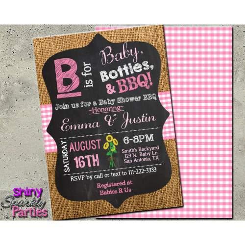 Medium Crop Of Girl Baby Shower Invitations