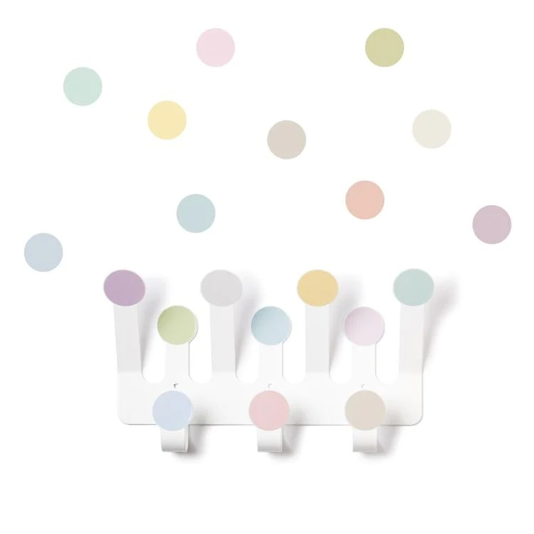 Tresxics 10 Dots Wall Stickers and Hanger Set