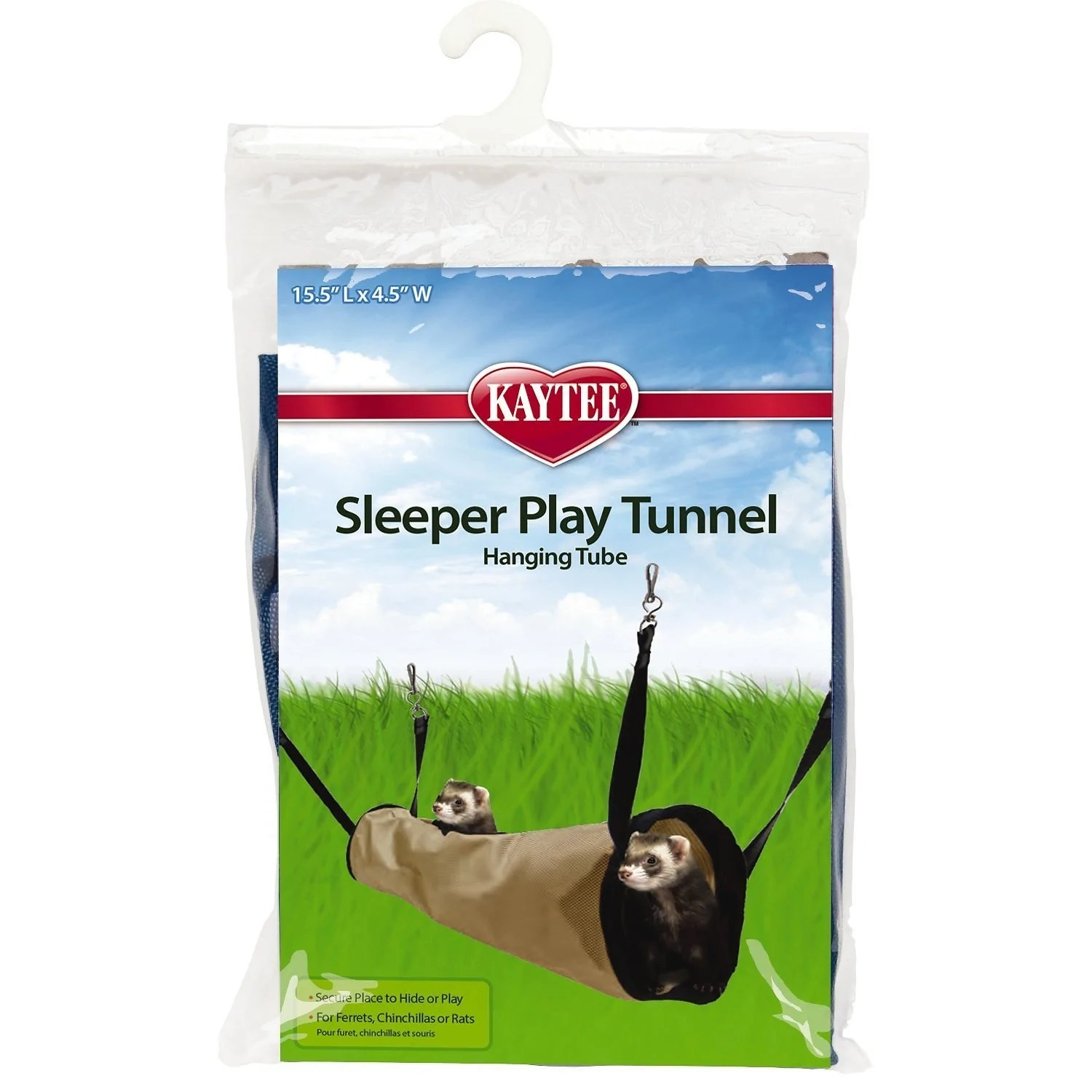 Tunnel Pour Animaux Kaytee Simple Sleeper Small Animal Play Tunnel 15 5 Inch