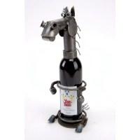 "Animal Wine Bottle Holders tagged ""Farm Animals"" - Metal ..."