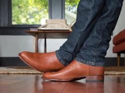 The Shane A Handmade Waterproof Suede Roper Boot Tecovas