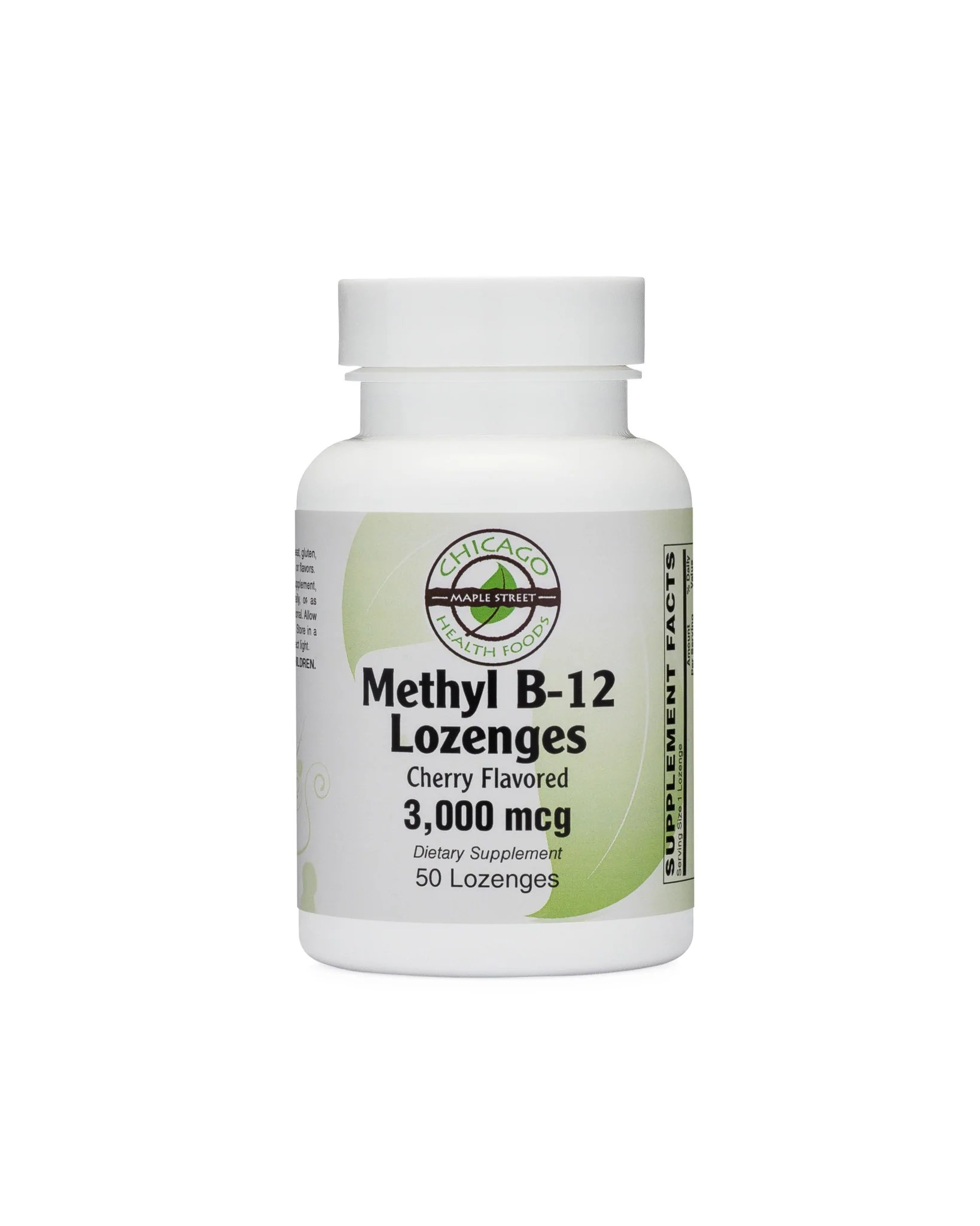 Foods Vitamin B 50 Methyl B12 Lozenges Chicago Health 3 000 Mcg 50 Lozenges