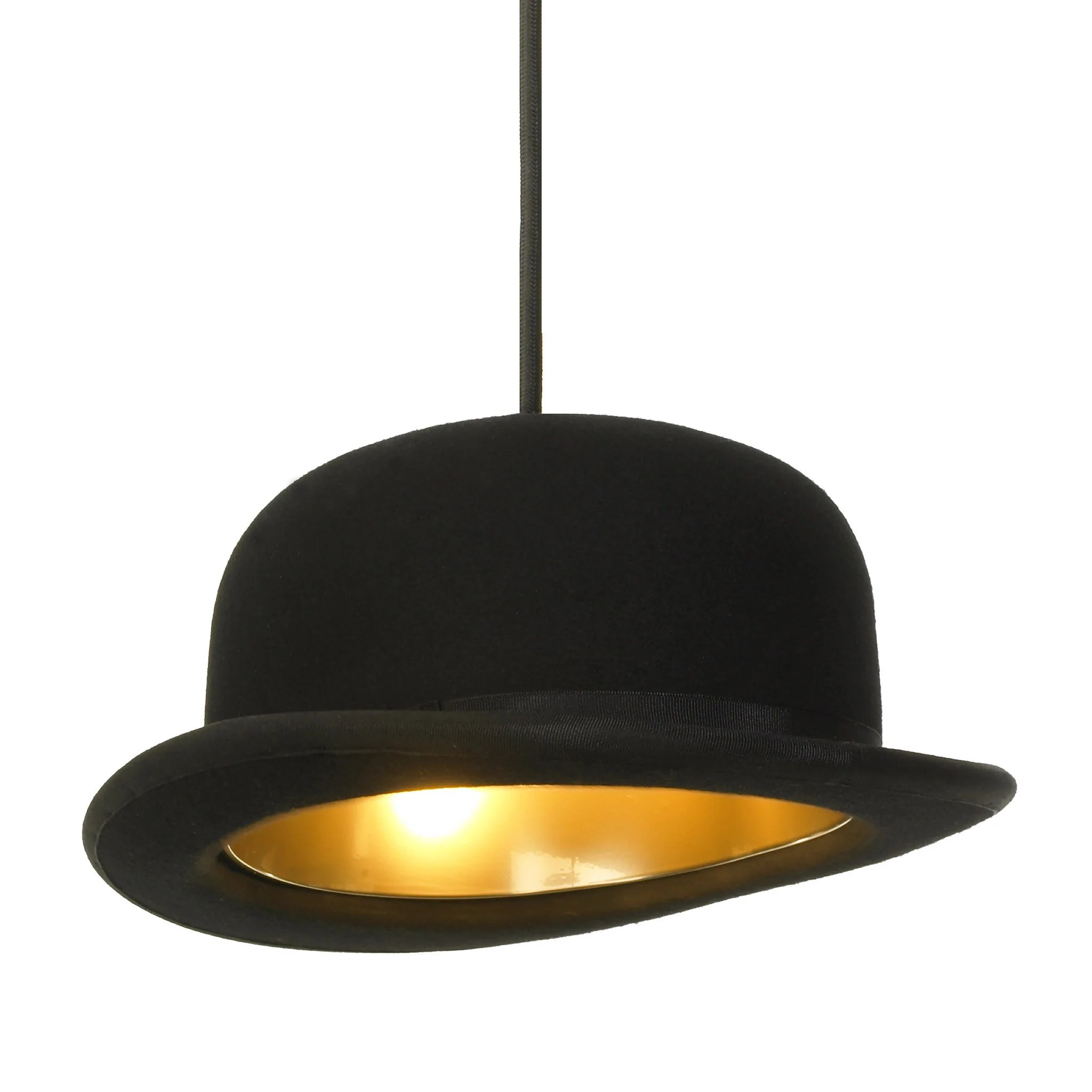 Ceiling Light Shades Jeeves Bowler Hat Lamp Shade