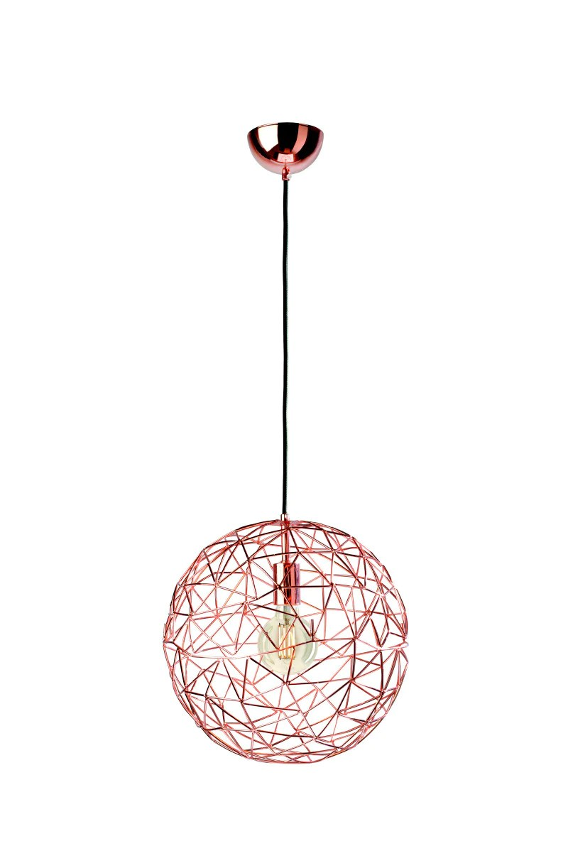 Sompex Lampen Cage Large Metal Copper Funky Lamp Shades