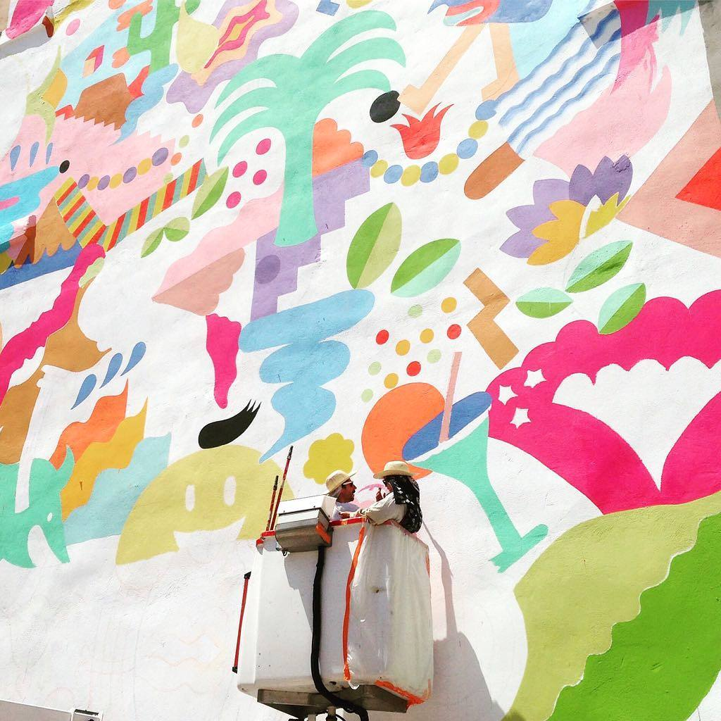 Great Wall Mural Colour Inspiration For Your Next Room Makeover Made Of Sundays