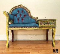 Antique Telephone Chair Table | Antique Furniture