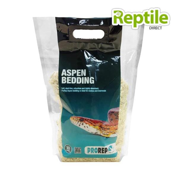 Pro Reptile Aspen Bedding 5l Reptile Direct