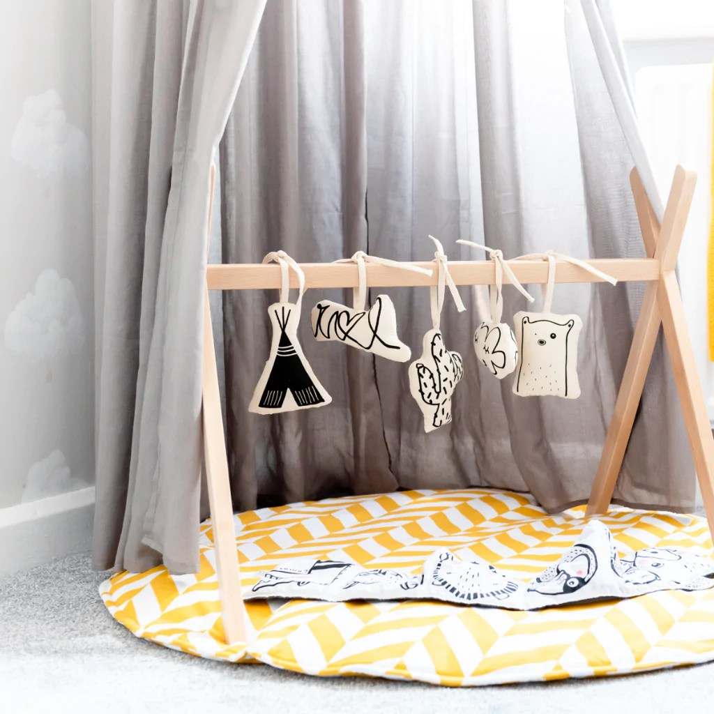 Rocking Chair Baby Bunting Our Boho Cloud Nursery Mini Maison Modern Nursery Decor