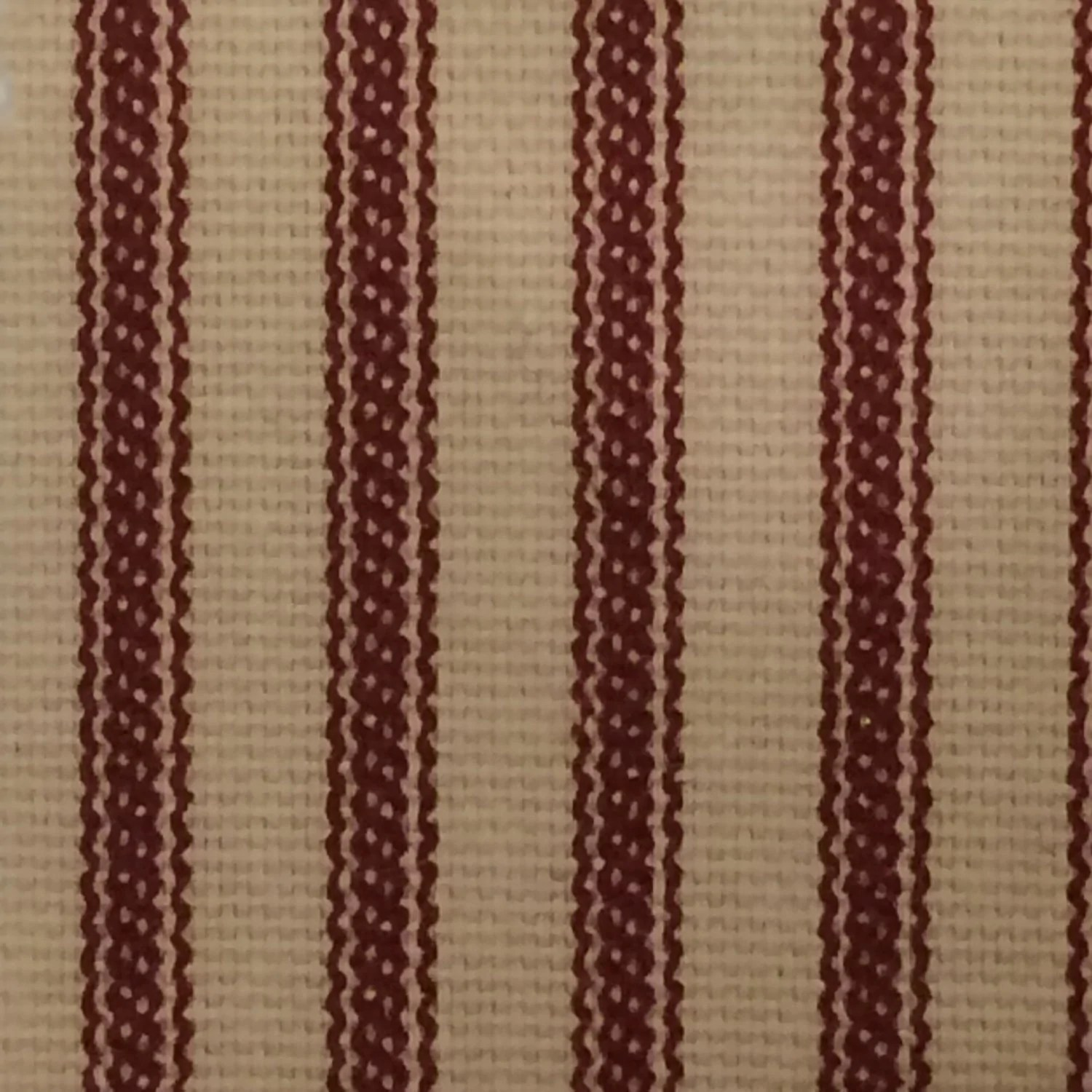Red And Brown Shower Curtain Ticking Stripe Shower Curtain Black Brown Grey Navy Red 72x72 Or Custom Size