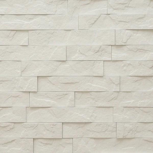 Grey Brick Wallpaper 3d Ledge White Stone 3d Wall Panels 4 Pack 16sq Ft Case