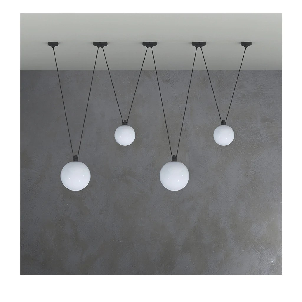 Lampe Ball Acrobates 323 Xl Glass Ball Pendant Light 250 Mm La Lampe Gras