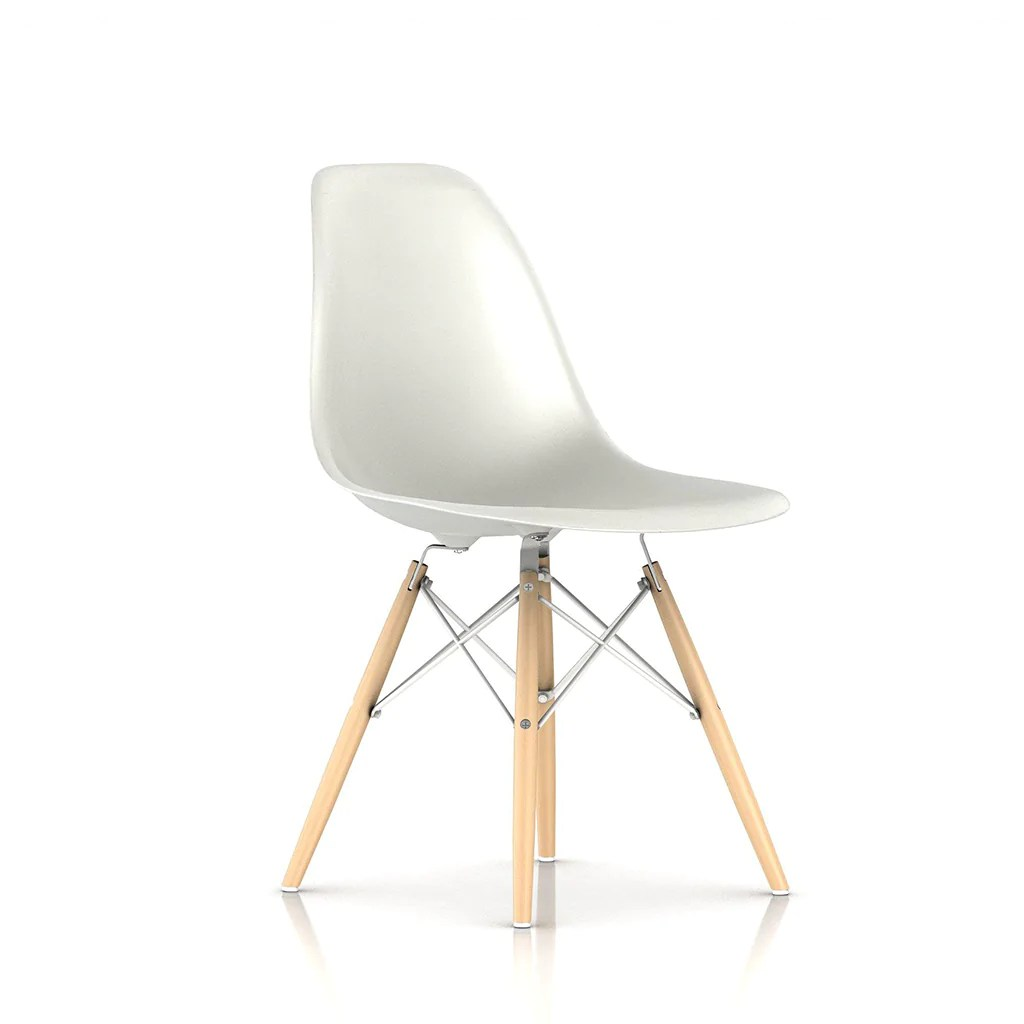 Eames Chair Base Eames Moulded Plastic Wood Dowel Base Chair Open Room