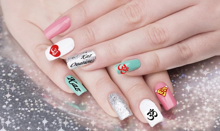 Aum Om Nail Art Kaz Creations