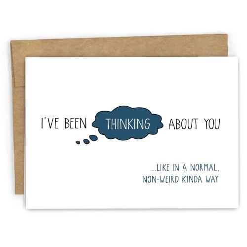 Medium Of Thinking Of You Cards