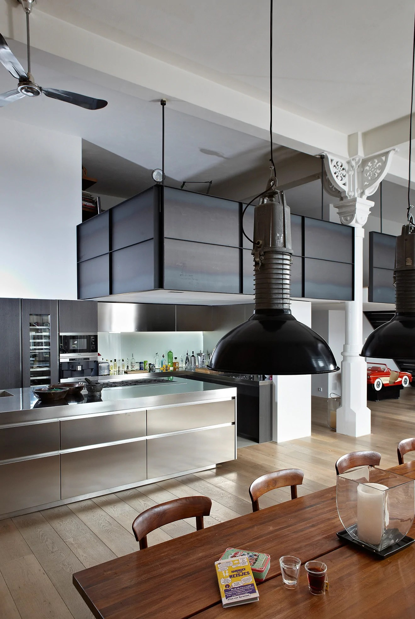 Interior Design Amsterdam The Canal House Amsterdam Industrial Interior Design Project