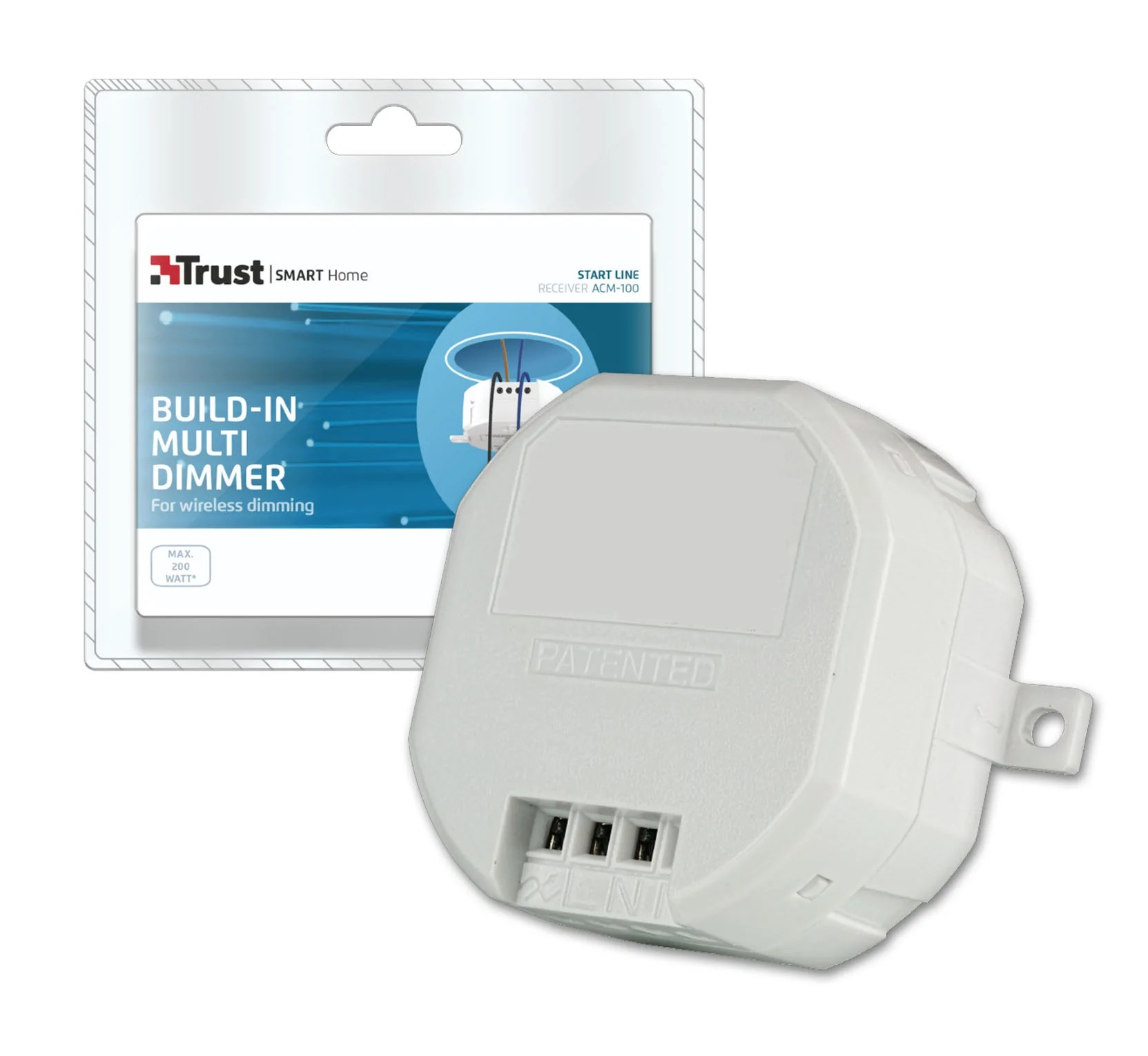 Smart Home Dimmer Build In Multi Dimmer Acm 100 Trust Smart Home