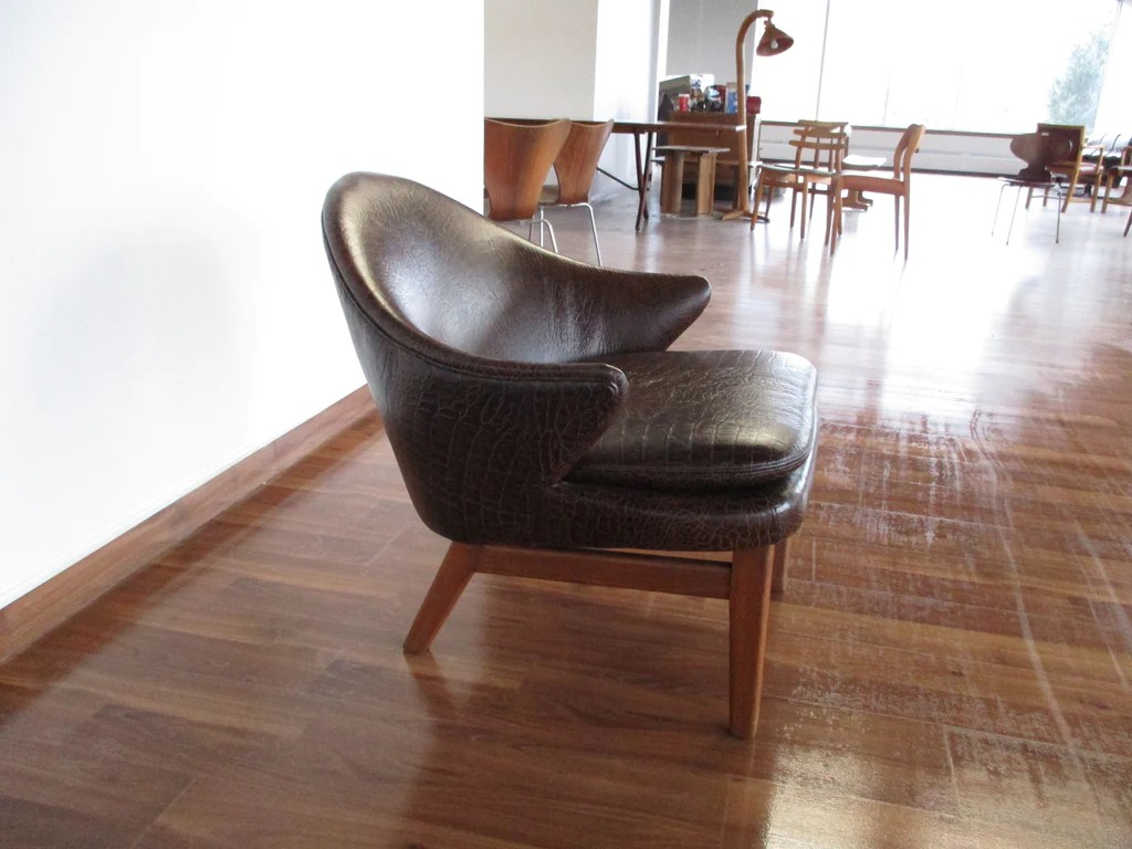 Leather Armchair Canada Crocodile Print Leather Armchair Mostly Danish Furniture