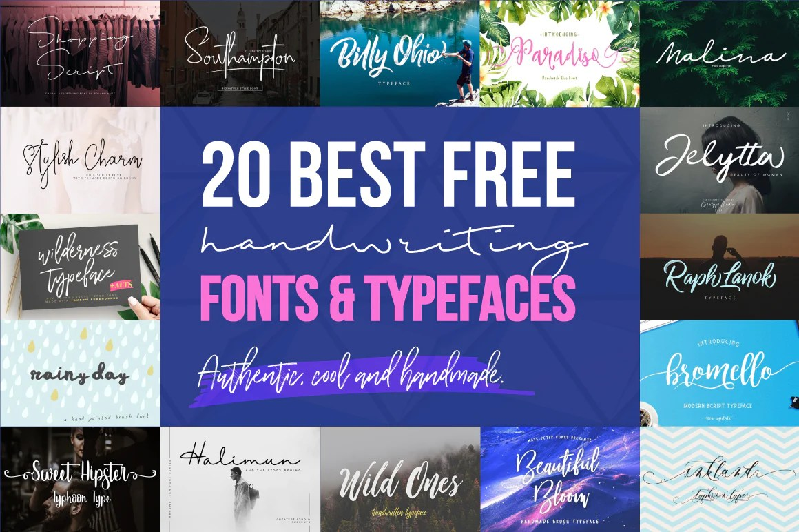 Calligraphy Font Modern Free 20 Best Free Cool Handwriting Fonts For 2018 Creativebooster
