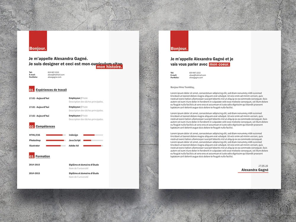 free resume template for macbook