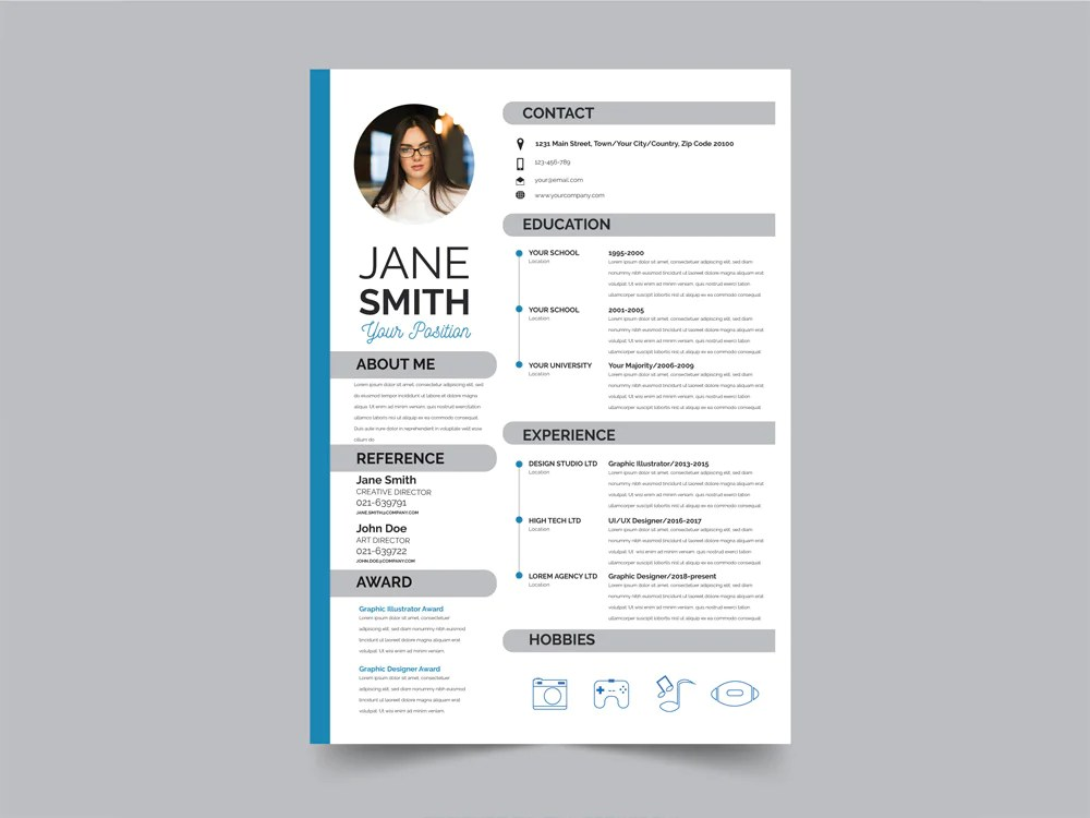 cv word style illustrator