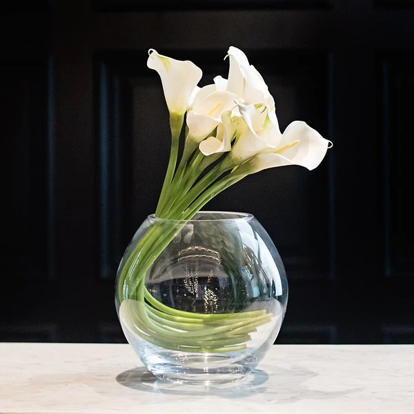 Tulips Flower Uk Luxury Artificial White Calla Lily | Amaranthine Blooms