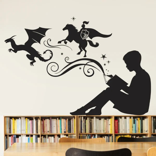 Book Quote Wallpaper Edgar Allan Poe Classroom Wall Decals Dana Decals