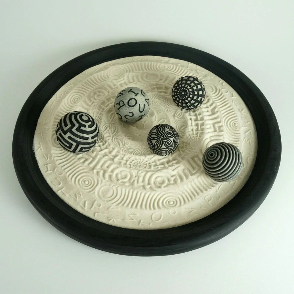 Table Top Zen Garden Tabletop Modern Zen Garden Scholar Package