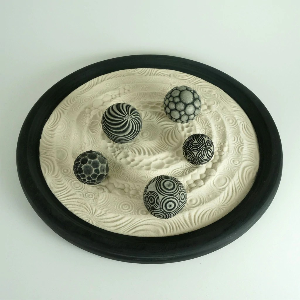 Table Top Zen Garden Tabletop Modern Zen Garden Circles Package 15