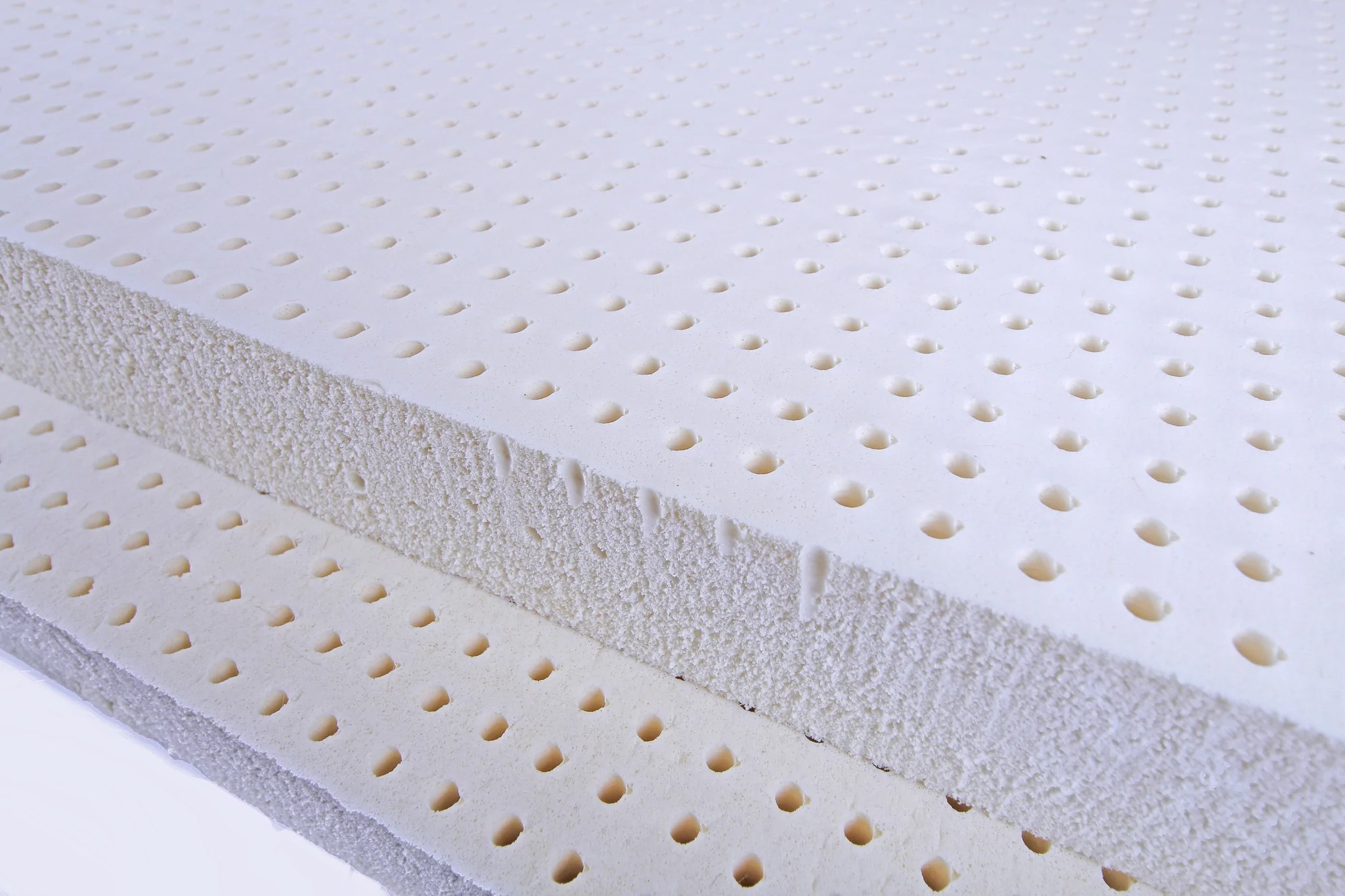Foam Or Latex Mattresses Blended Talalay Latex Mattress Toppers